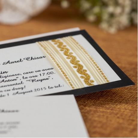 Invitatie de nunta Yolanda Sclipici - TIPARIRE GRATUITA