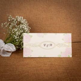 Invitatie de nunta Isabella Floral - TIPARIRE GRATUITA
