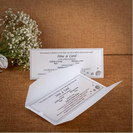 Invitatie de nunta Yvette Marina Tip Plic