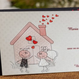 Invitatie de nunta Rudolphine Cãsutã cu Miri Haioasã - ASAMBLARE GRATUITA
