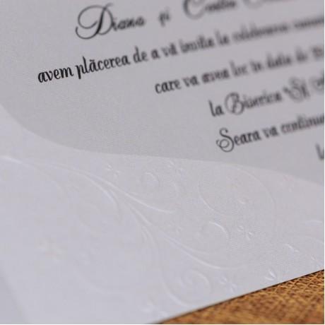 Invitatie de nunta 595 - Asamblare Gratuitã