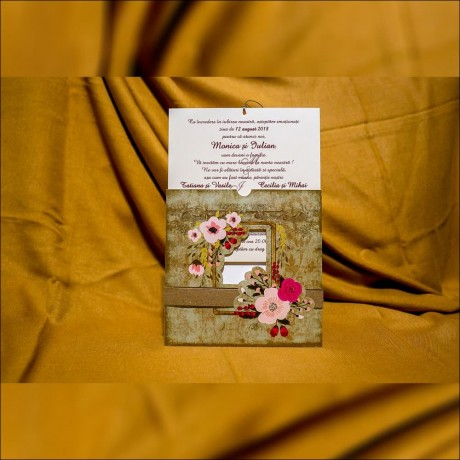 Invitatie de nunta 4004