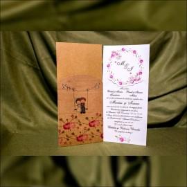Invitatie de nunta Fernandina Miri în Leagãn