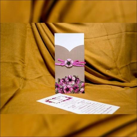 Invitatie de nunta Gwen Funditã Floral