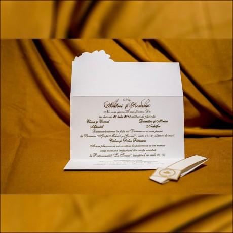 Invitatie de nunta Nonnie Vintage Scrisoare