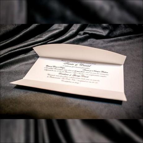 Invitatie de nunta Tessy Miri pe Scuter Tip Plic - Tip Plic