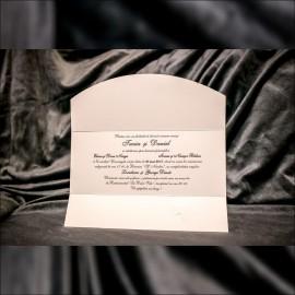 Invitatie de nunta Tessy Miri pe Scuter Tip Plic