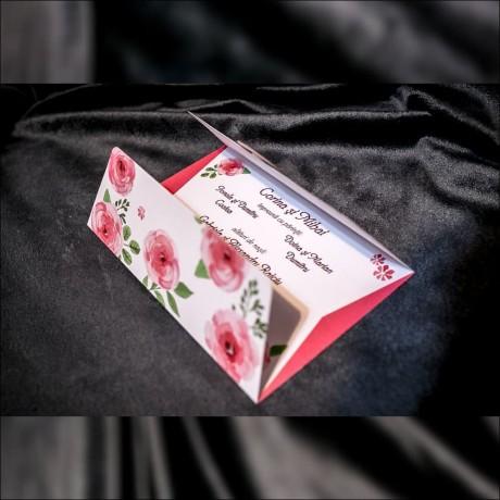 Invitatie de nunta Florentine Trandafir Tip Plic