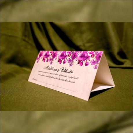Plic de bani Rosaleen Floral Aprins - De Nuntã