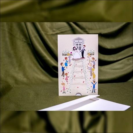 Invitatie de nunta Hettie Miri Haioasã