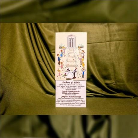 Invitatie de nunta Hettie Miri Haioasã - Miri