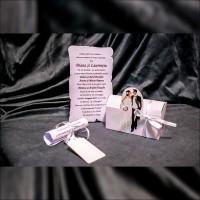 Invitatie de nunta Jacobina Miri Floral Tip Cutie