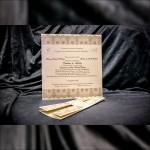 Invitatie de nunta Damaris Bentitã cu Miri Damask