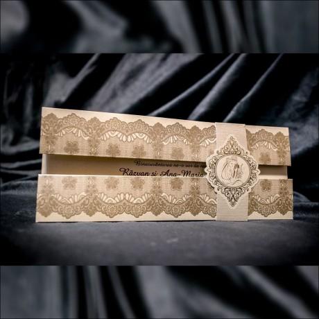Invitatie de nunta Damaris Bentitã cu Miri Damask - Damask