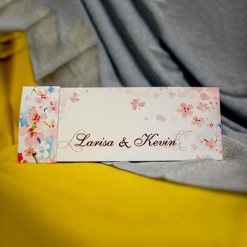 Invitatie de nunta Grace Flori de Cires cu Bentitã - Bentitã