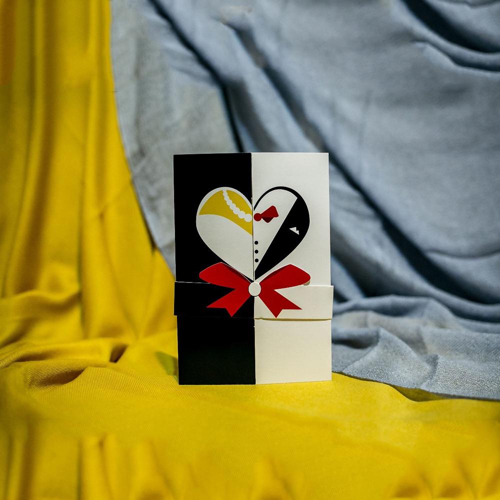 Invitatie de nunta Irmina Inimioarã Funditã Imprimatã - Bentitã