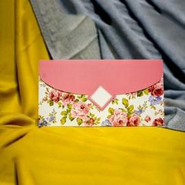 Invitatie de nunta Brita Floral Tip Plic