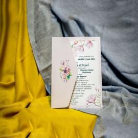 Invitatie de nunta Fenella Floral