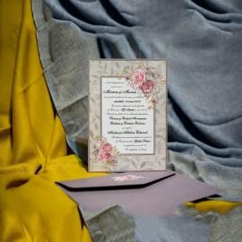 Invitatie de nunta Fernanda Chenar Floral