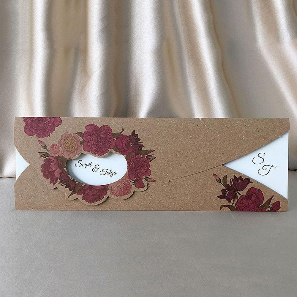 Invitatie de nunta 94056 - Vintage