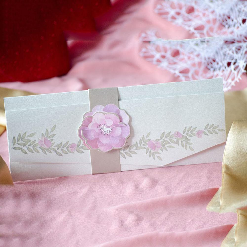 Invitatie de nunta 94091 - Flori
