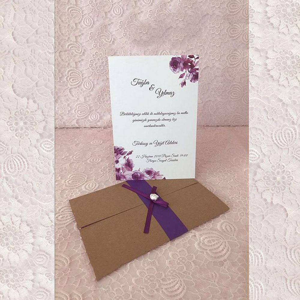 Invitatie de nunta 94098 - Vintage