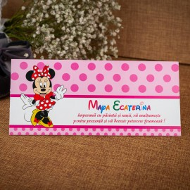 Plic de bani Candy Minnie Mouse