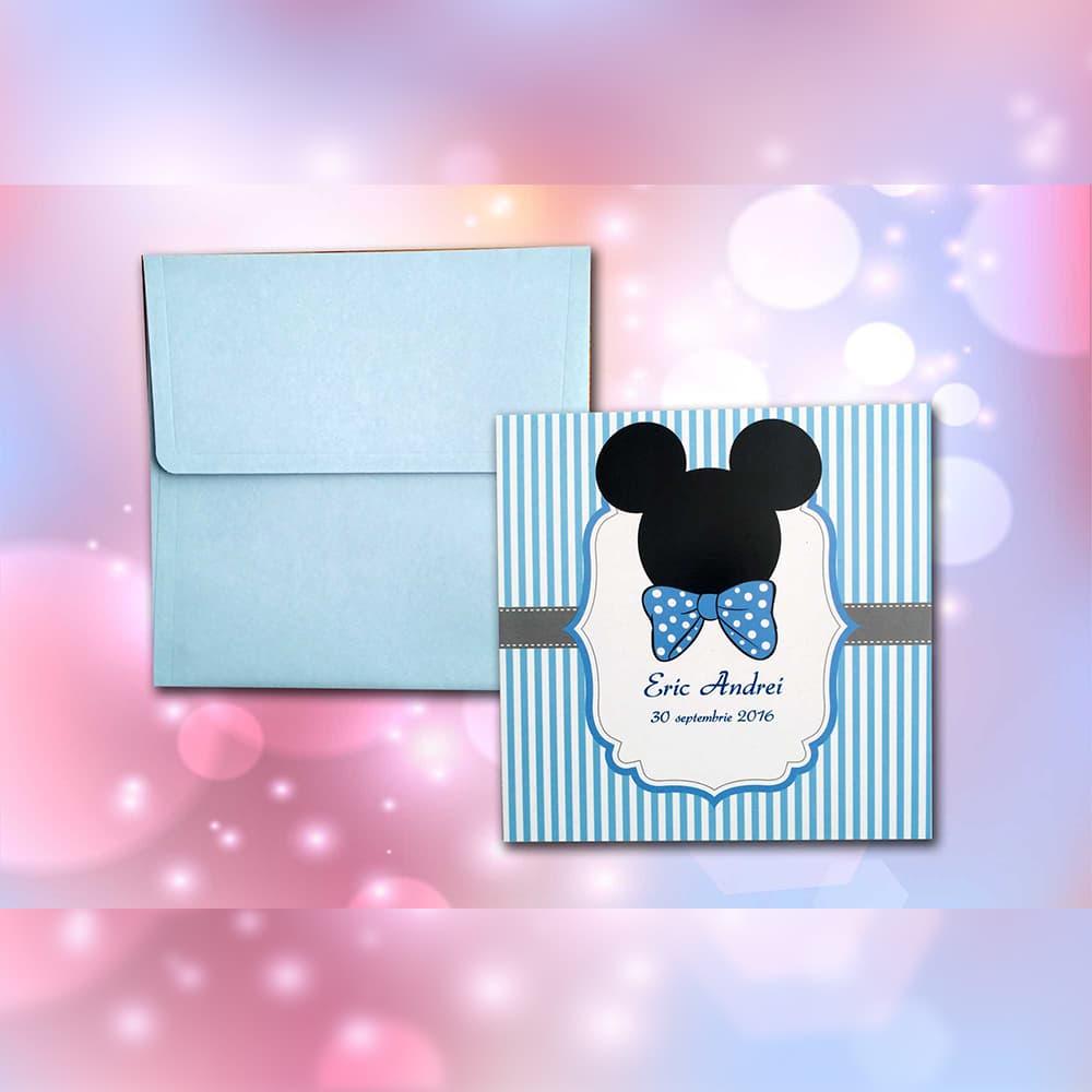 Invitatie de botez Raymond Mickey Mouse