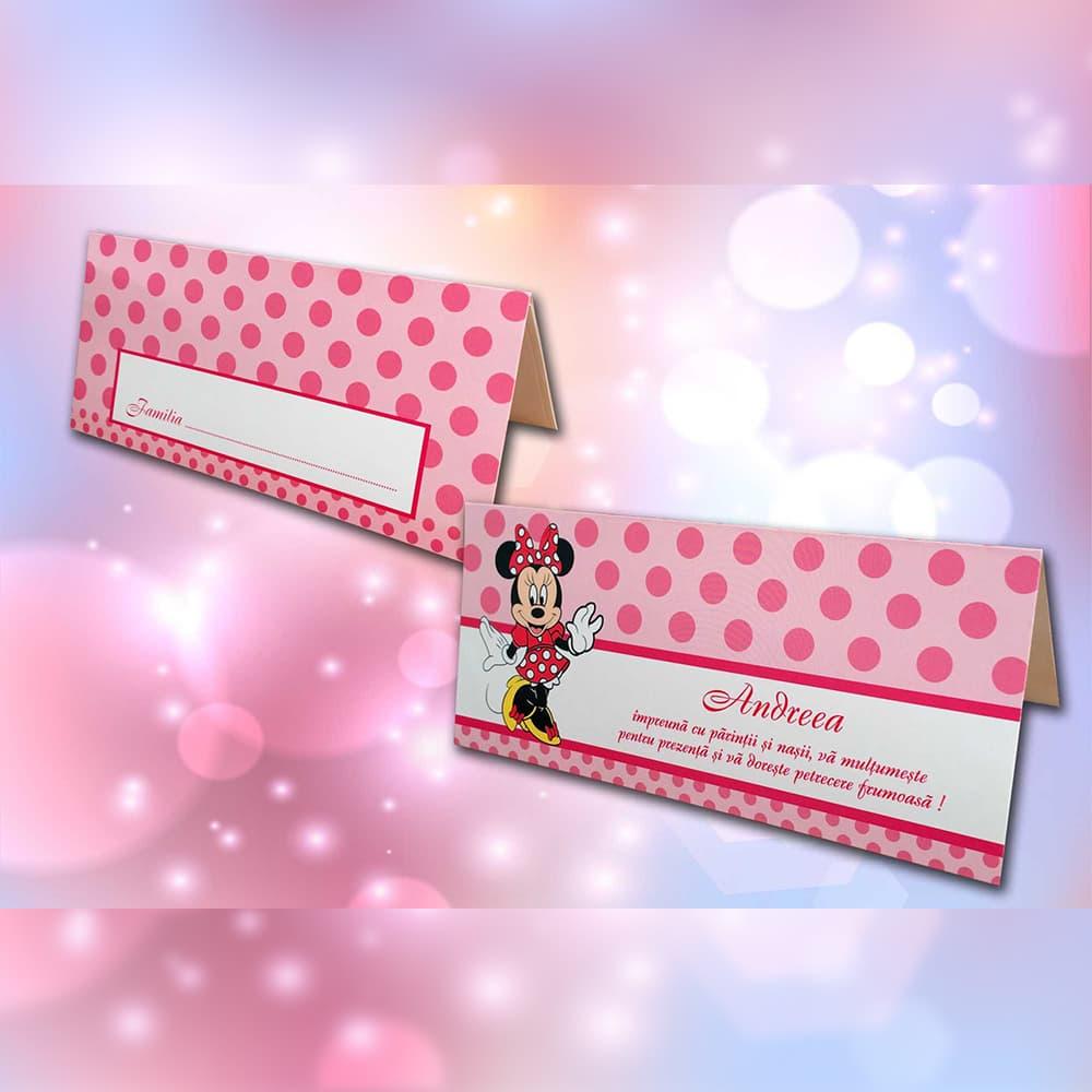 Plic de bani Candy Minnie Mouse - De Botez