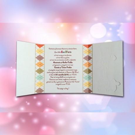 Invitatie de botez Hedwig Animãlute - Invitatii De Botez