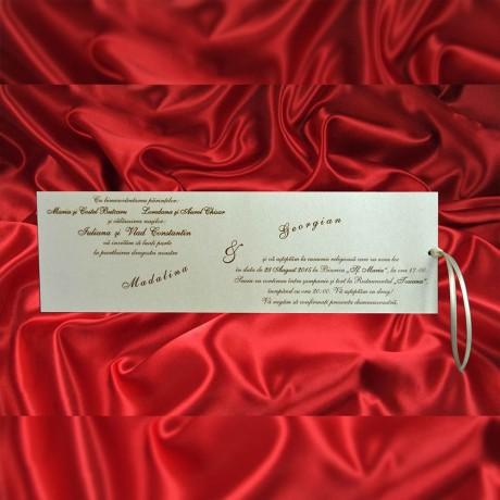 Invitatie de nunta 1037 - Invitatii De Nunta