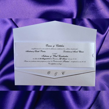 Invitatie de nunta 1054 - Invitatii De Nunta