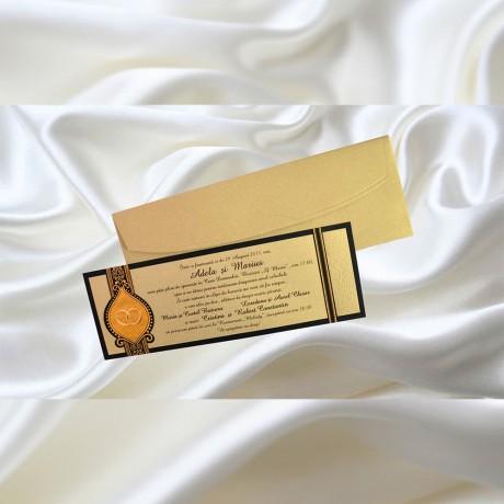 Invitatie de nunta 1062 - Invitatii De Nunta