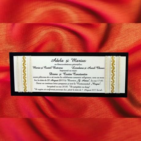 Invitatie de nunta 1066 - Invitatii De Nunta