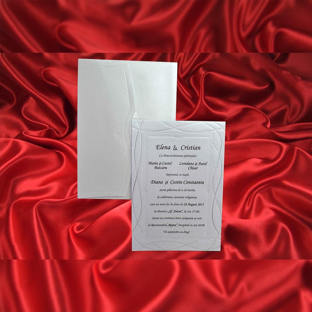 Invitatie de nunta 1112 - Invitatii De Nunta
