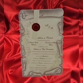 Invitatie de nunta 1763