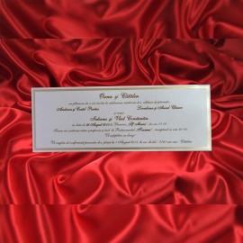 Invitatie de nunta 1787