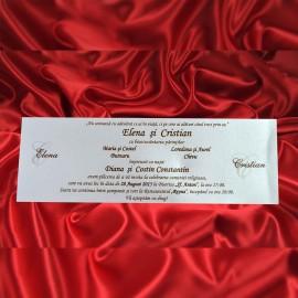 Invitatie de nunta 1791