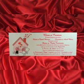Invitatie de nunta 464