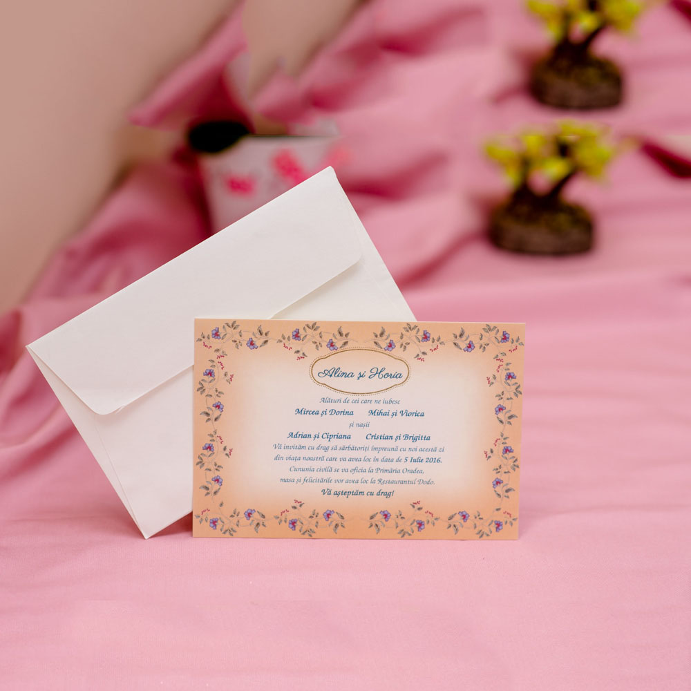 Invitatie de nunta 602