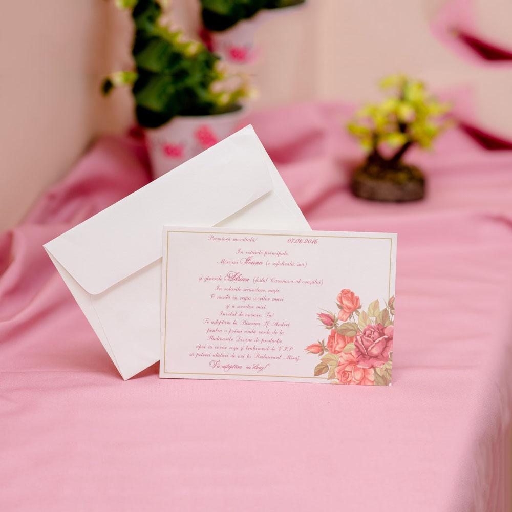 Invitatie de nunta 606 - Logodna