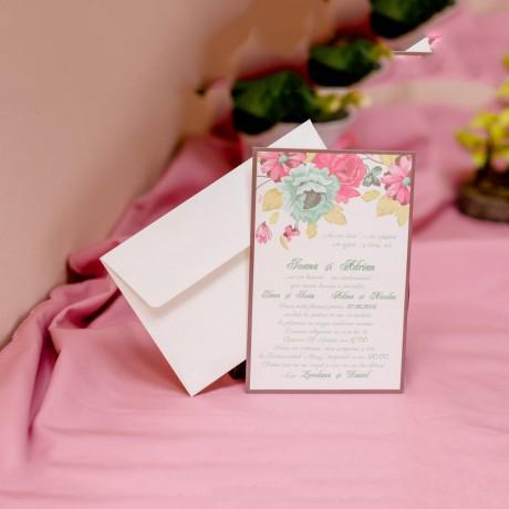 Invitatie de nunta 607