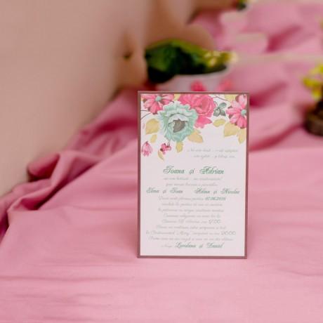 Invitatie de nunta 607 - Logodna