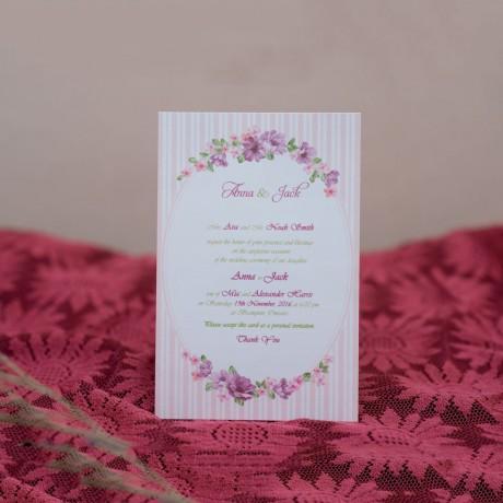 Invitatie de nunta 608 - Vintage