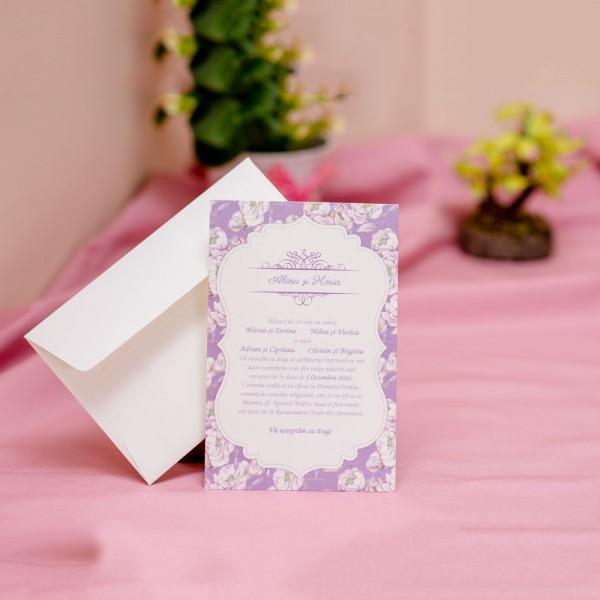 Invitatie de nunta 609