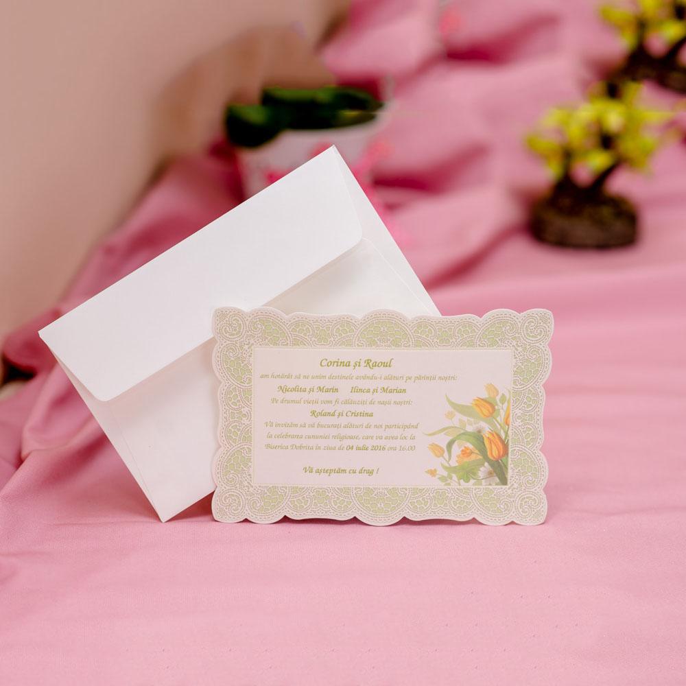 Invitatie de nunta 610 - Logodna