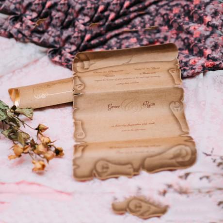 Invitatie de nunta 1145 - Papirus