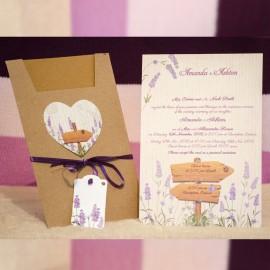 Invitatie de nunta 4007