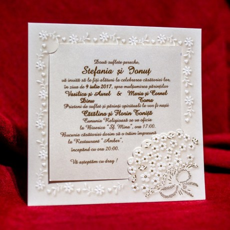 Invitatie de nunta 514P - Logodna